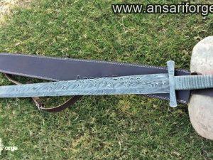 Damascus steel Viking sword