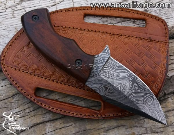 Damascus Hunting Knife EDC Skinning Knives
